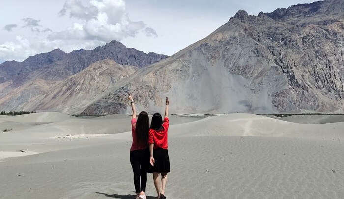 visiting to leh with friends
