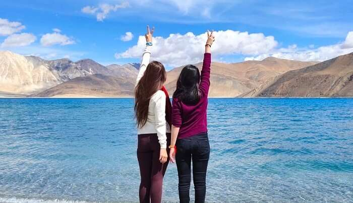 visited and Pangong Lake