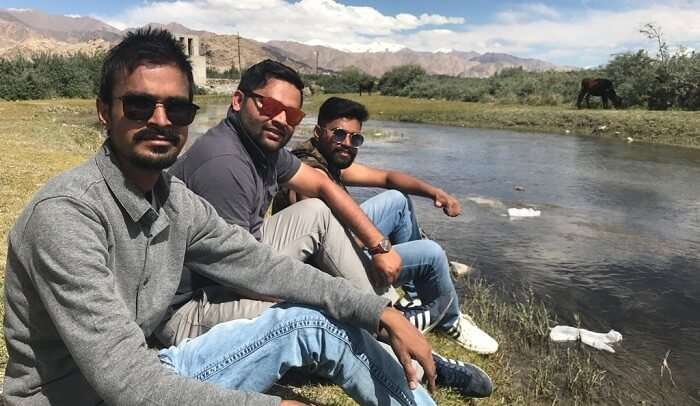 some enjoyment with friends