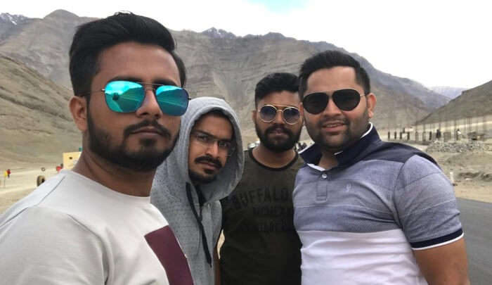 enjoyed the trip with friends