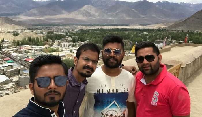 witness the beautiful sights in leh