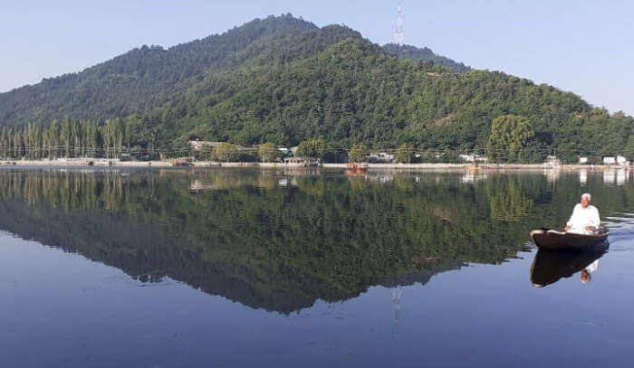 a mesmerizing experience to witness dal lake