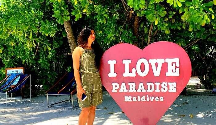 loving the beach vibe at paradise