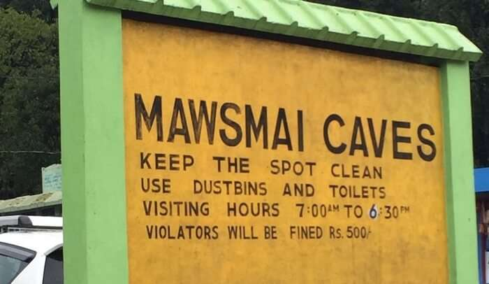 Mawsmai caves history