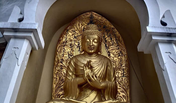 buddha monastrey at peace pagoda