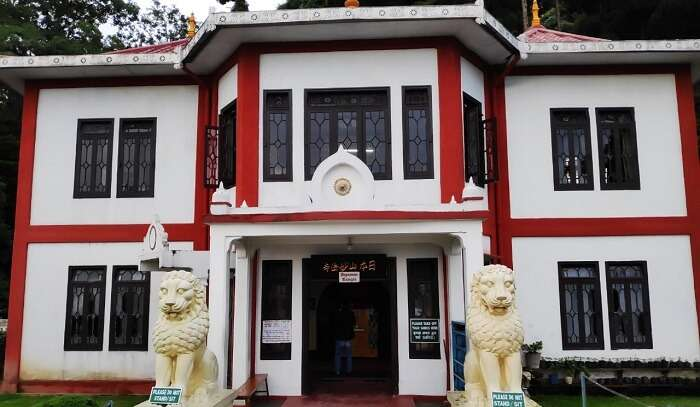 at peace pagoda monastrey