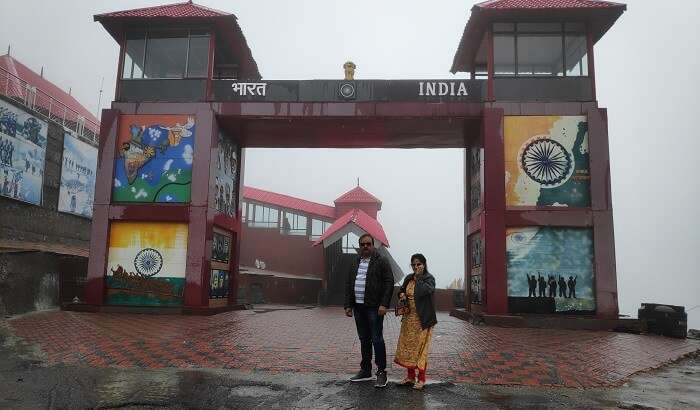 get to see the Indian border line