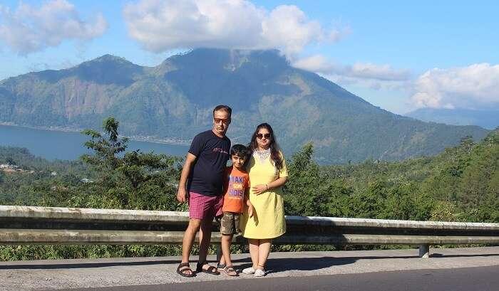 enjoying the barong volcano trip