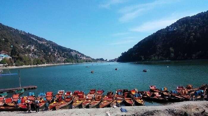lake in nainital