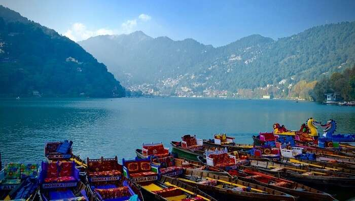 boating in Naini lake
