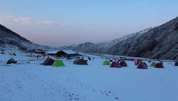 trekking camp sikkim