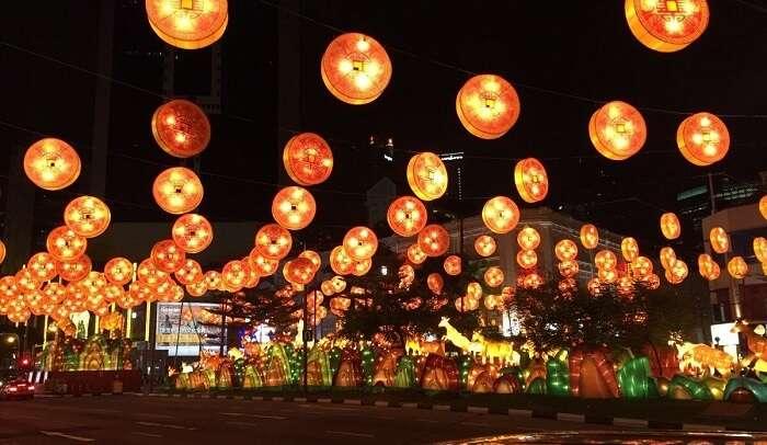 lantern festival at singapore