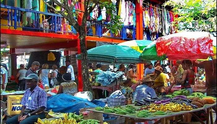 victoria market seychelles