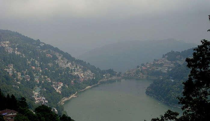 lake view nainital