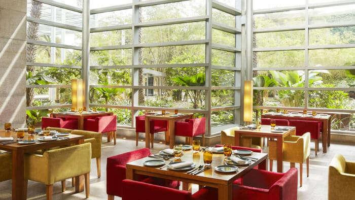Stunning View of Restaurant