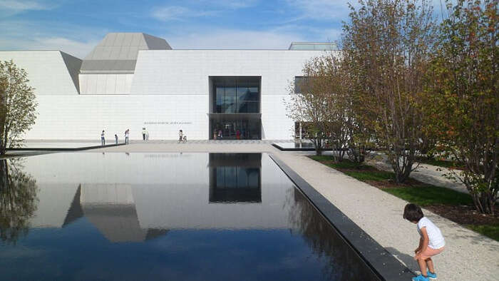 Architectural beauty of Museum