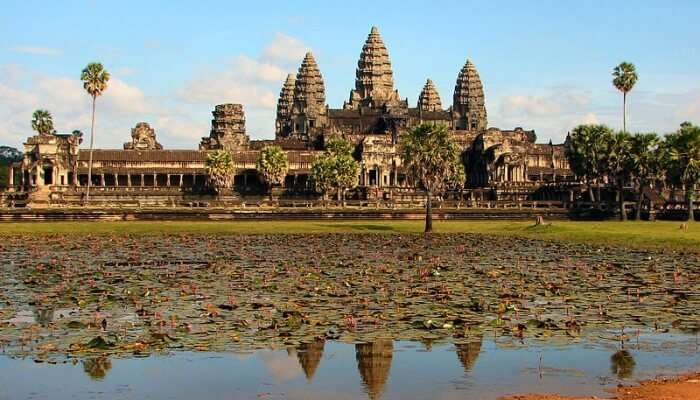 Angkor In Cambodia