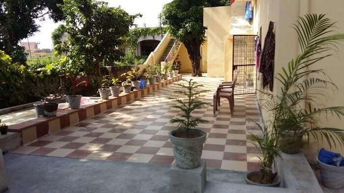 homestay is pretty close to Rishikesh and offers a beautiful view of the religious town