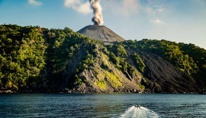 Witness volcano