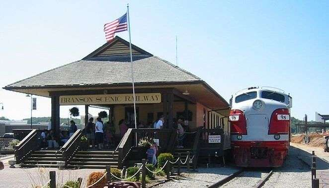 Branson Scenic Railway In Missouri