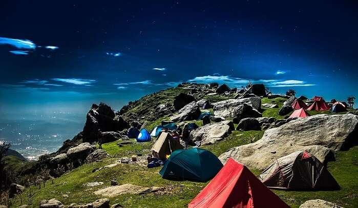 trekkers camp as it offers beautiful scenery