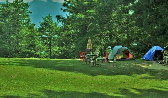 small trekking and camping site