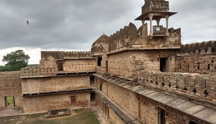 It was constructed back in history by ruler Kirti Pa