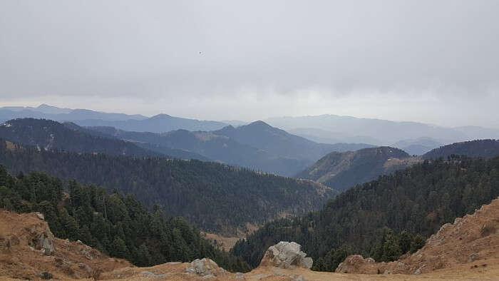 Beautiful Peak in Dalhousie