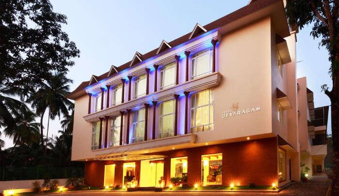 Beautiful Hotel in Thrissur