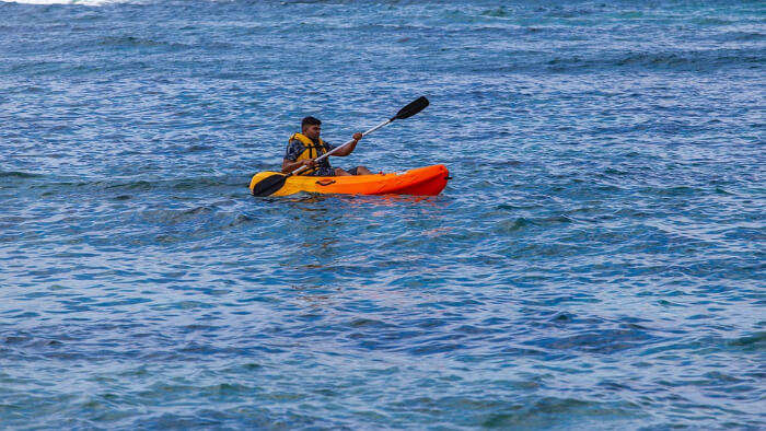 Sea Kayaking Experience