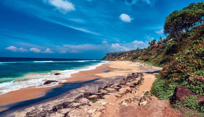 Scenic Beauty of Beach