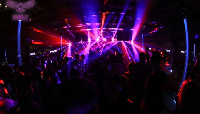 Lightening in the Club