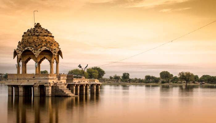 Lake in Jaisalmer