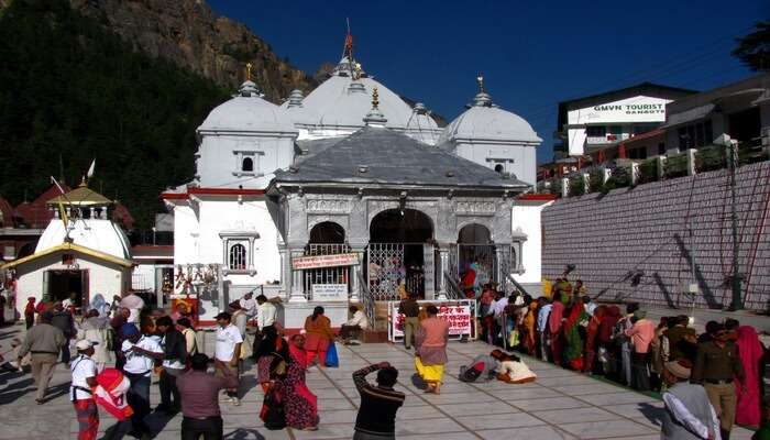 Gangotri Temple View