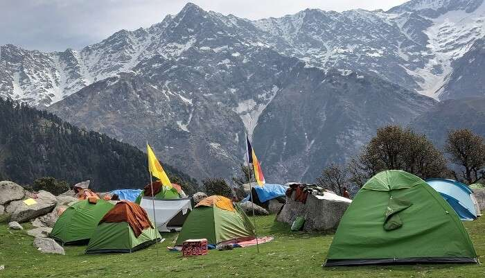Grahan has a scenic campsite and welcoming locals