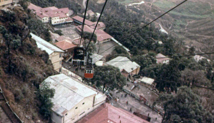 Gun Hill in Mussorie