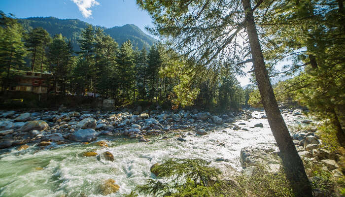 Mesmerizing view of kasol valley