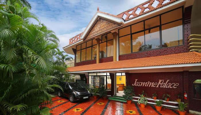 Hotel Jasmine Palace, Kovalam