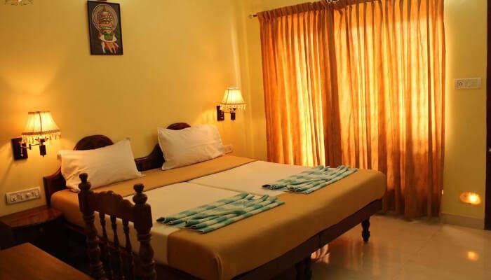 Hotel Sea View Palace, Kovalam