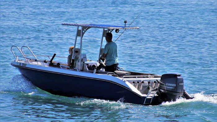 Riding Boat
