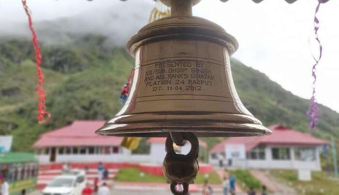 bell in the temple