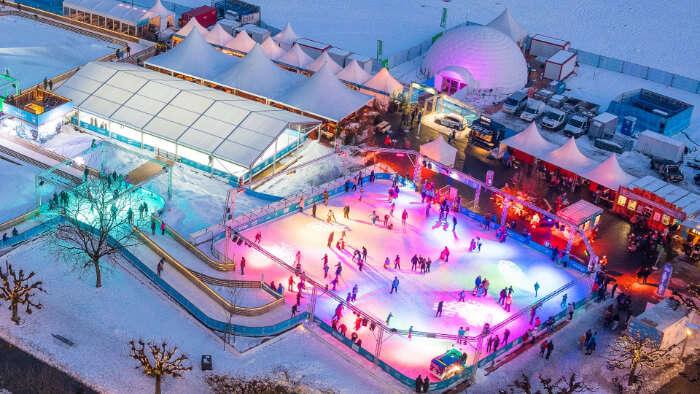 Ice Magic in Interlaken