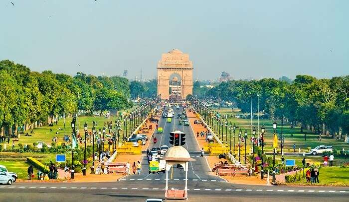 india gate is the best place