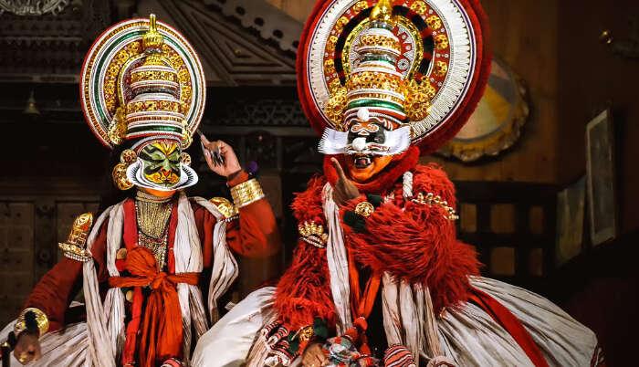 Traditional form of Kathakali