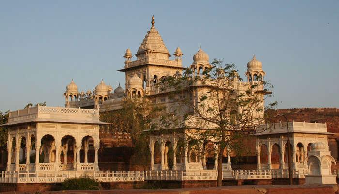Jaswant Thada Near Jaisalmer