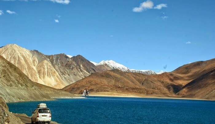 beautiful scene of Ladakh