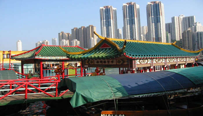 Jumbo Floating Restaurant At The Victoria Harbour