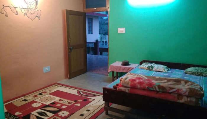 Night view of Bedroom