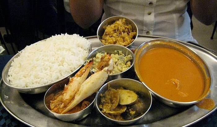 mouth-watering Goan cuisine