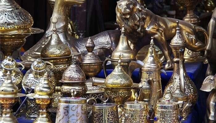 Khan El-Khalili Bazaar egypt